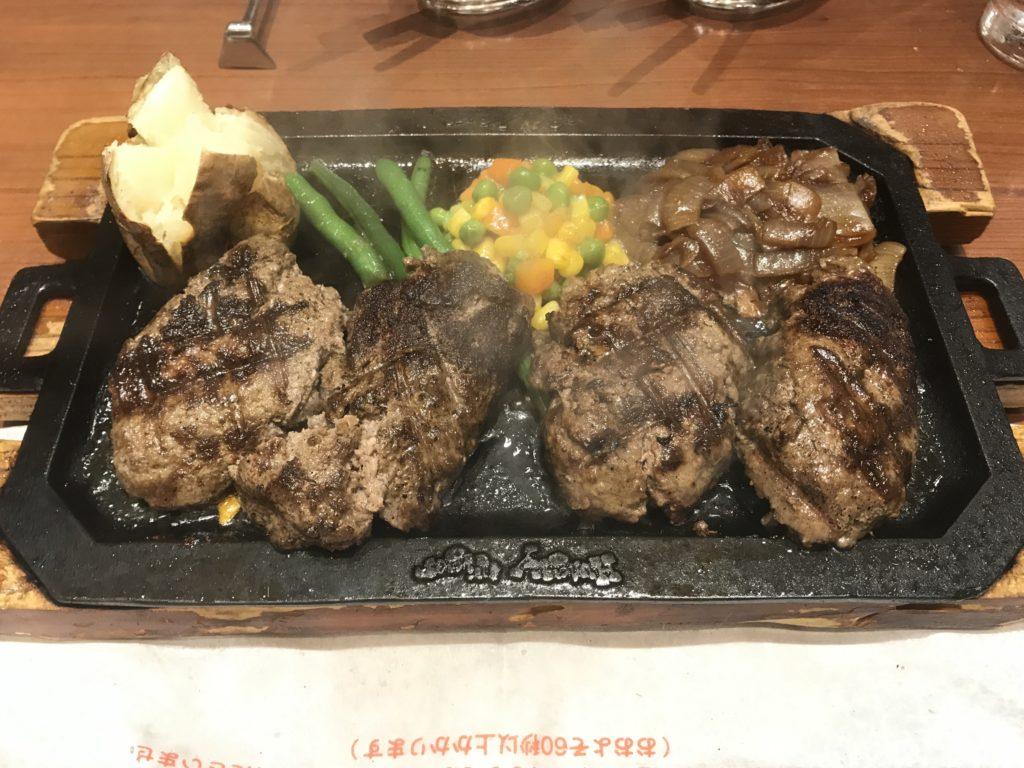 【ハンバーグレビュー】武蔵小杉 ハングリータイガーのダブルハンバーグステーキを食べました。