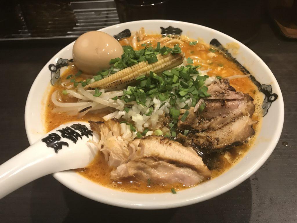 【ラーメンレビュー】神田:カラシビ味噌らー麺鬼金棒の特製カラシビラーメンを食べてみた