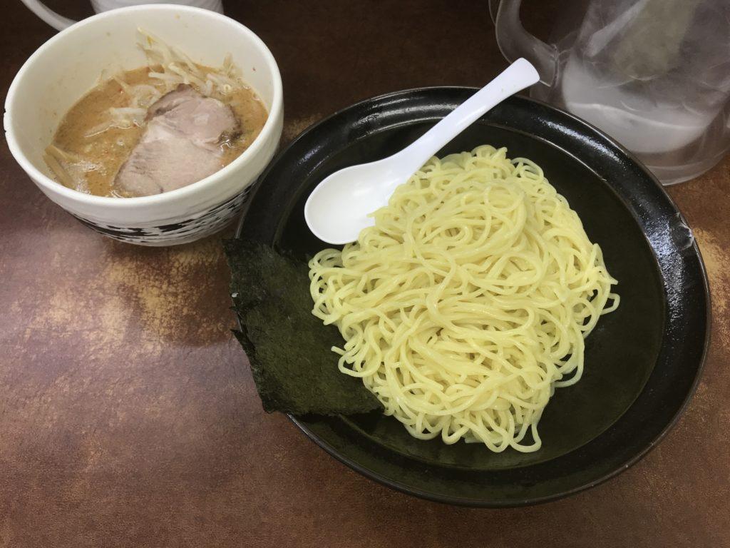 【ラーメンレビュー】千歳船橋:けんちゃんラーメンのごまつけ麺を食べてみた