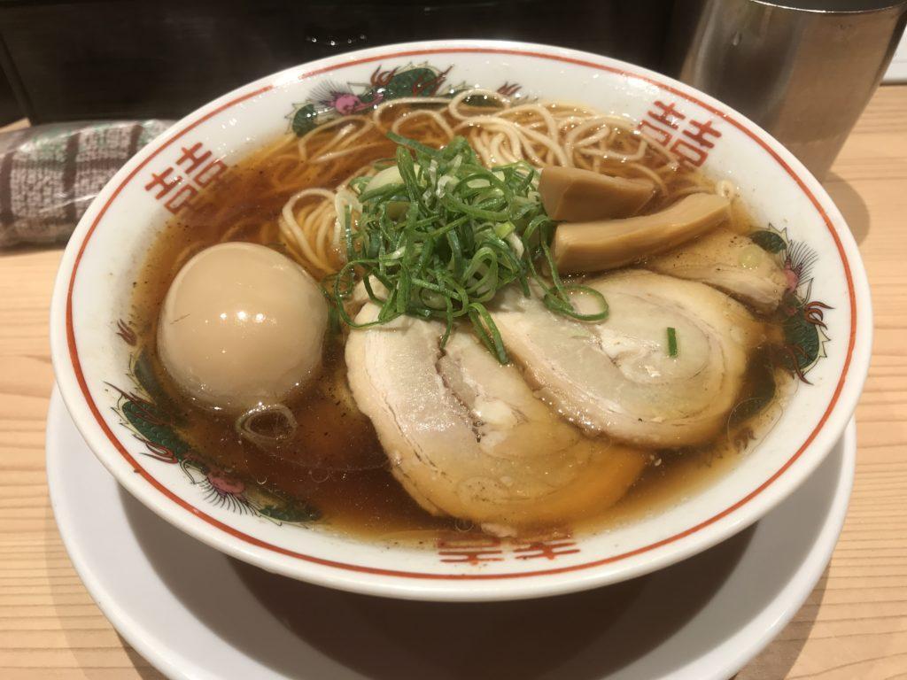 【ラーメンレビュー】四谷三丁目:京紫灯花繚乱の京都醤油らぁめんを食べてみた