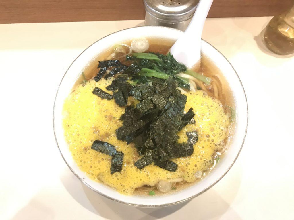 【ラーメンレビュー】新宿:らぁめんほりうちの納豆らぁめんを食べてみた
