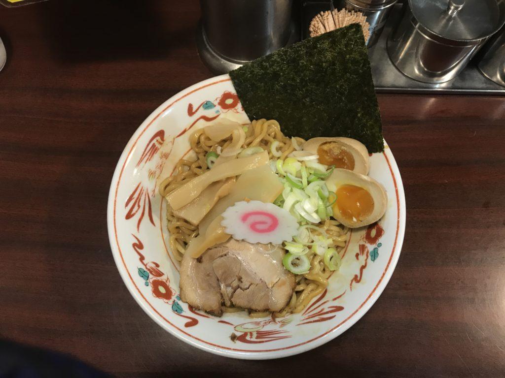 【ラーメンレビュー】吉祥寺:らーめん専門店ぶぶかの黒丸味玉油そばを食べてみた