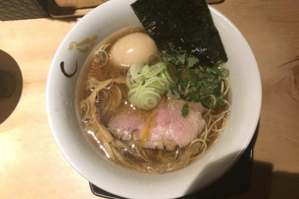 【ラーメンレビュー】新宿:SOBAHOUSE 金色不如帰で夜限定の鴨脂と蛤の醤油を食べてみた