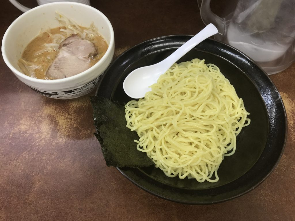 千歳船橋:けんちゃんラーメンのごまつけ麺を食べてみた【ラーメンレビュー】