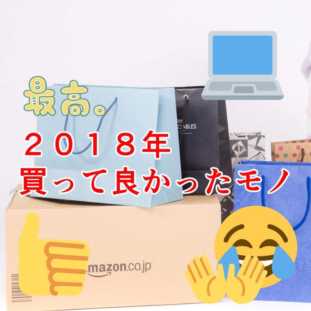 【2018年】ライザーが今年買って良かったものベスト7