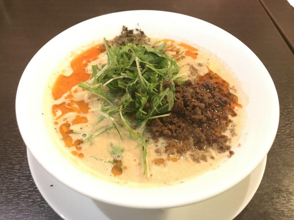 湯島:四川担担麺 阿吽の担々麺を食べてみた【ラーメンレビュー】