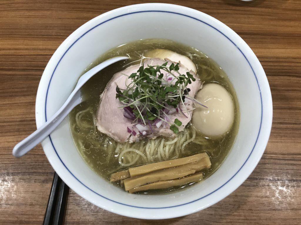【ラーメンレビュー】千歳船橋:中華そば西川の氷見煮干しとハマグリ煮干しの冷やしそばを食べてみた
