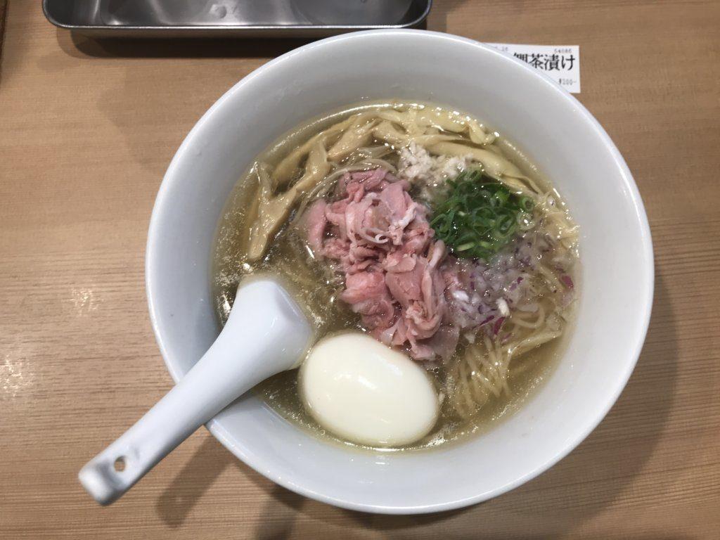新宿:らぁ麺 鳳仙花の特製らぁ麺と金目鯛茶漬けを食べてみた【ラーメンレビュー】