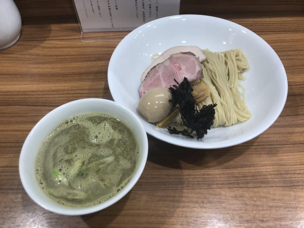 千歳船橋:中華そば西川の味玉つけそばを食べてみた【ラーメンレビュー】