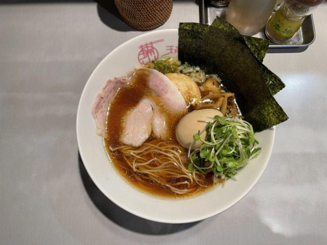 朝霞: 中華蕎麦 瑞山(ZUIZAN)の特製中華そばを食べてみた【ラーメンレビュー】