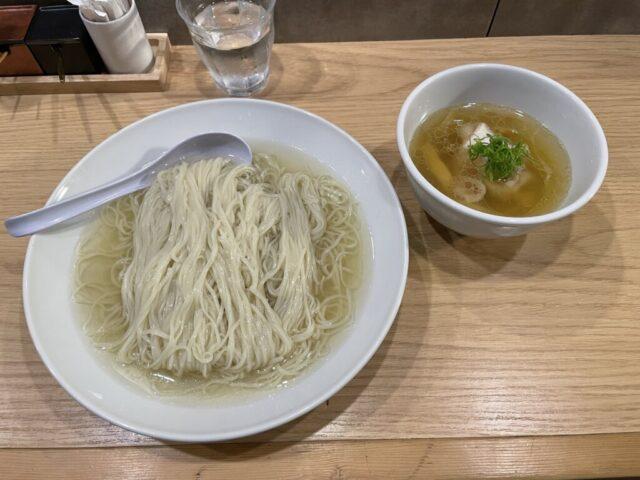 千歳船橋:らーめんMAIKAGURA(まいかぐら)の塩つけ麺を食べてみた【ラーメンレビュー】