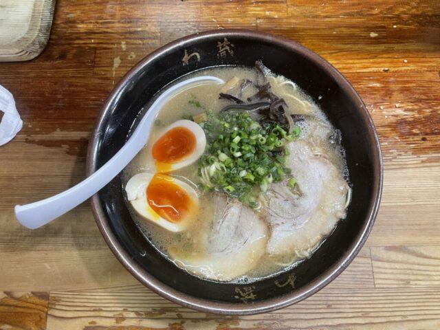 新宿:博多とんこつらーめん わ蔵のらーめんを食べてみた【ラーメンレビュー】